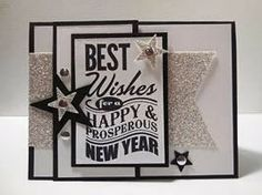Make It Monday - Stampin' Up! Best New Year Card