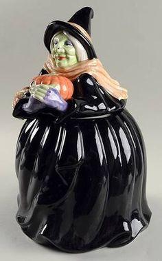 Fitz & Floyd Halloween cookie jar