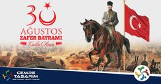 Tarihi şanlı zaferlerle dolu olan büyük Türk milletimizin 30 Ağustos Zafer Bayramını en içten duygularımızla kutluyor, aziz şehitlerimizi saygı ve minnetle anıyoruz. www.cemretasarim.com