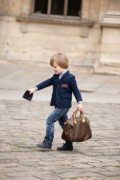 stylish little man