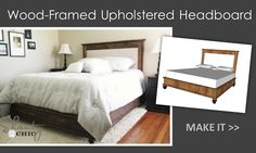 Ana White | Build a Chestwick Upholstered Headboard- Queen | Free and Easy DIY Project and Furniture Plans