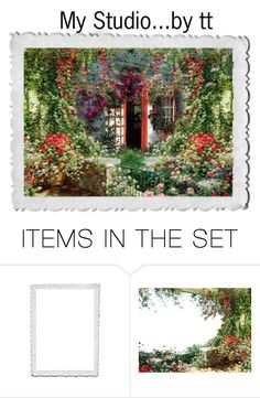 """""""My Studio...by tt"""" by fowlerteetee ❤ liked on Polyvore featuring art"""