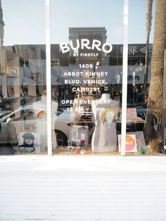 Burro is a lovely store in Abbot Kinney Boulevard, Venice in Los Angeles, California. Read more: http://www.monaandsaga.com/blog/2016/9/4/burro