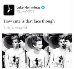 5 Seconds of Summer Luke is SOO cute:)
