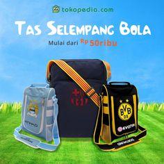 Tampil lebih gaya dengan Tas Salempang Bola dari ribuan online shop di Tokopedia. Aneka tas salempang dengan berbagai motif tim favorit kamu bisa kamu temukan di sini. Lengkap dan murah!  Harga mulai dari Rp 50 ribu aja! Yuk beli dengan klik http://www.tokopedia.com/hot/tas-selempang-bola
