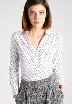 Kleding More & More Overhemd - white wit: € 49,95 Bij Zalando (op 27-12-16). Gratis bezorging & retournering, snelle levering en veilig betalen!