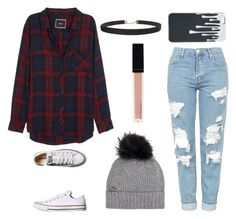 Untitled #83 by darbi-easley on Polyvore featuring polyvore, fashion, style, Rails, Topshop, Converse, Humble Chic, Woolrich, Witchery and clothing