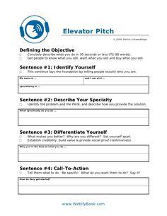 C06 business elevator pitch (worksheet)
