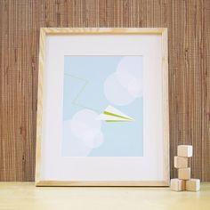 Paper Plane $29 print