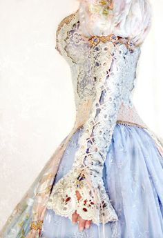 i have no idea where one would actually wear this dress other than a princess party, but it still looks cool :)
