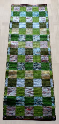 Loom Weaving, Hand Weaving, Picnic Blanket, Outdoor Blanket, Recycled Fabric, Rug Hooking, Woven Rug, Fiber Art, Textiles