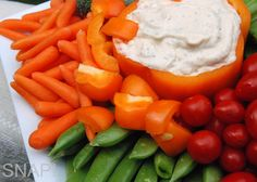 Isn't this gorgeous? So easy to throw together too -- Jalapeno Ranch Dip