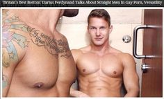 Darius Ferdynand - Gay adult star & Britain's Best Bottom Boy