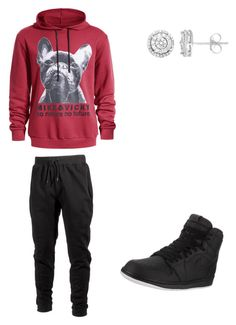 """Dope Outfit"" by sonictheincrediblefox on Polyvore featuring Ideology, Jordan Brand, men's fashion and menswear"
