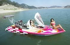 Flat Bottom Drag Boat, w/ Some Bikinis Fast Boats, Speed Boats, Power Boats, Drag Boat Racing, Nhra Drag Racing, Flat Bottom Boats, Boat Girl, Smoke On The Water, Ski Boats