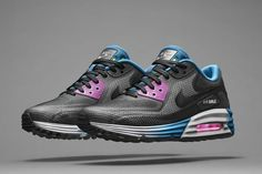 Black-pink-blue - All's Shoes - Boltr