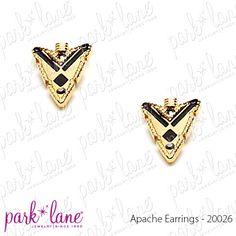 Apache Pierced Earrings  www.myparklane.com/pread