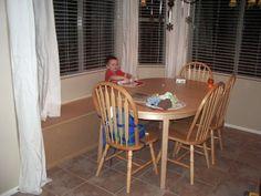 DIY: Window Seat With Hidden Storage...