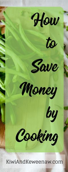Learn how to love cooking and save money by cooking at home more! Lower your grocery bill and get your budget in check with these cooking tips!