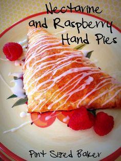 Pint Sized Baker: Nectarine Raspberry Hand Pies