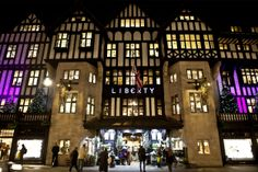 There is something very magical about the lights of @Liberty London at night, especially during the festive season.