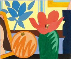 """primary-yellow: """" TOM WESSELMANN STUDY FOR STILL LIFE WITH ORANGE AND TULIP, 1992 """""""