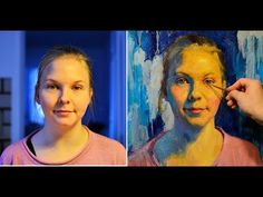 How to paint a portrait in oils? Tutorial by MFA Sergey Gusev. - YouTube