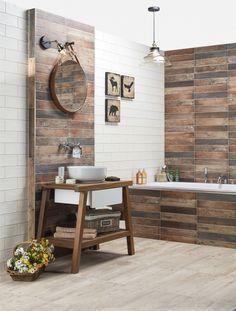 chalupářská koupelna Industrial Style, Double Vanity, Sweet Home, Bathroom, Sims, Room Ideas, Bath, Washroom, House Beautiful