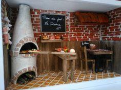 Diorama, Pizzeria, Barbie, Market Stalls, Decoration, Crafty, Food, Doll Houses, Home Decor