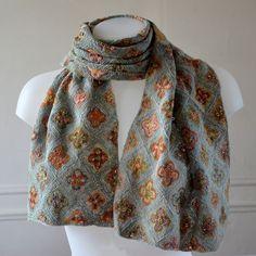 "Sophie Digard crochet ""sealife in green"":"