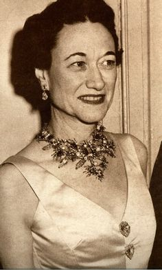 He did a necklace for the Duchess of Windsor that she wore throughout her life.