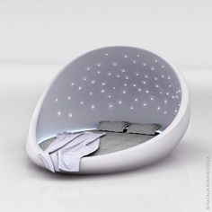 The Cosmos Bed by Natalia Rumyantseva I wouldn't go with white...