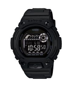Casio Baby-g Digital Military Series Watch Black Blx100-1fdr Matte Black Limited Edition