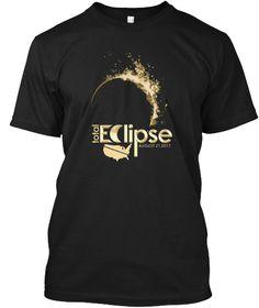 Total Solar Eclipse August 2017 T Shirt  Black T-Shirt Front