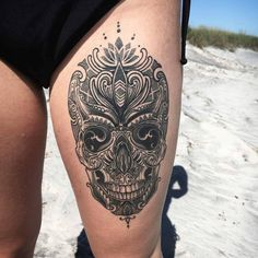 coenmitchell-skull-tattoo