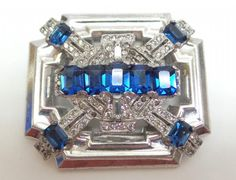 shopgoodwill.com: Vintage McClellan Barclay Art Deco Brooch