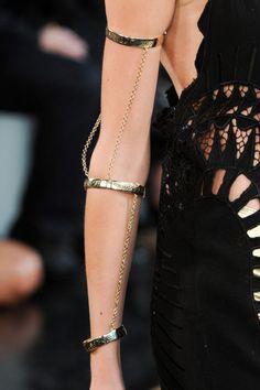 chanel cutouts - <3 this arm bracelet