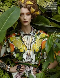 #summer #greenery #fashion #photography #editorial