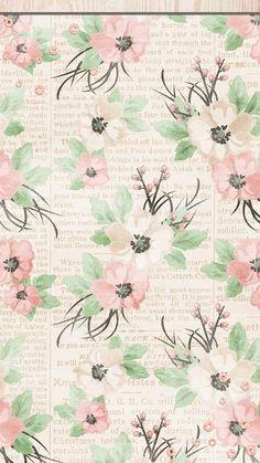 Ipod Wallpaper, Flowery Wallpaper, Matching Wallpaper, Flower Phone Wallpaper, Ocean Wallpaper, Wallpaper Size, Paper Wallpaper, Kawaii Wallpaper, Mobile Wallpaper