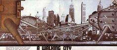 Ron Herron-The walking city (1964)