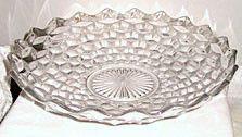"Elegant Glass - Fostoria - American - Shallow Fruit Bowl 13"""