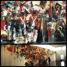 Amazing piece by Conor Harrington at the Walsall Art Gallery back in 2008. #streetart #streetartist #wallart #art #urbanart #urban #spraypaint #spraycan #stencilart #streetarteverywhere #graf #graffitiart #freeart #street #streetartistry #mural #gallery #conorharrington
