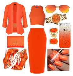 """""""Kingsday Ready"""" by nishka-trinidad on Polyvore featuring mode, City Chic, Sydney-Davies, Roland Mouret, Sam Edelman, Kate Spade, Casetify, Yves Saint Laurent, Bling Jewelry en Tory Burch"""