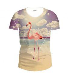 Flamingo T-shirt www.bittersweetparis.com