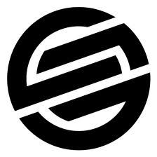 "Santa Cruz Knot Logo 6"" vinyl Skateboard Sticker.  Please click on photo to purchase item."
