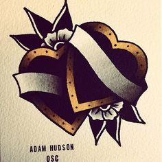hudsontattoo: Old favourite. #tattooflash
