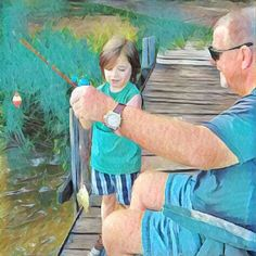 Shaw Williams (The Lake Drain Film) & Fishing Buddy Ryder in an Original…