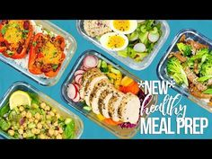 5 NEW Healthy Meal Prep Ideas | New Year 2018 - YouTube
