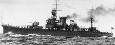 Furutaka as member of the Japanese Navy 5th Sentai (Squadron), circa 1927-1929