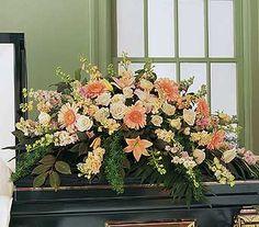 Casket Spray - Funeral Flower Arrangements